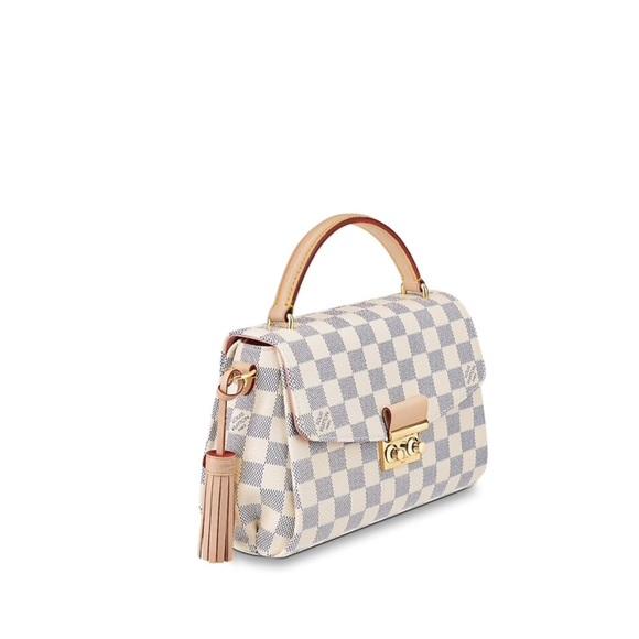 3c9131e3e2ac Louis Vuitton Handbags - Louis Vuitton Croisette Damier Azur Canvas